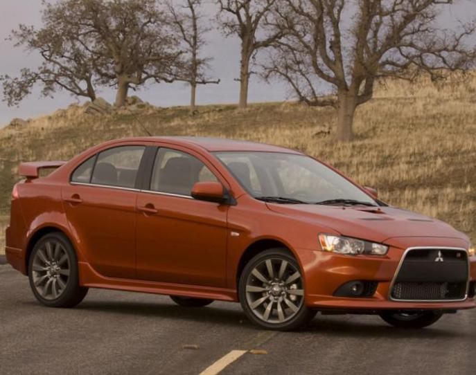 Lancer X Ralliart Mitsubishi used sedan