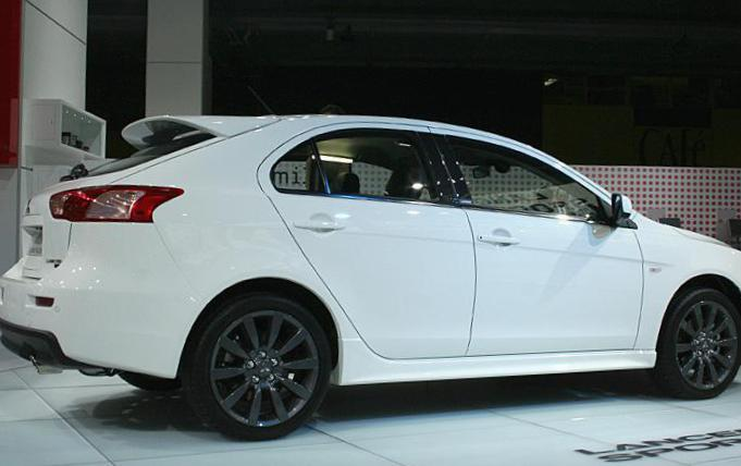 Mitsubishi Lancer X Sportback Ralliart Specifications suv
