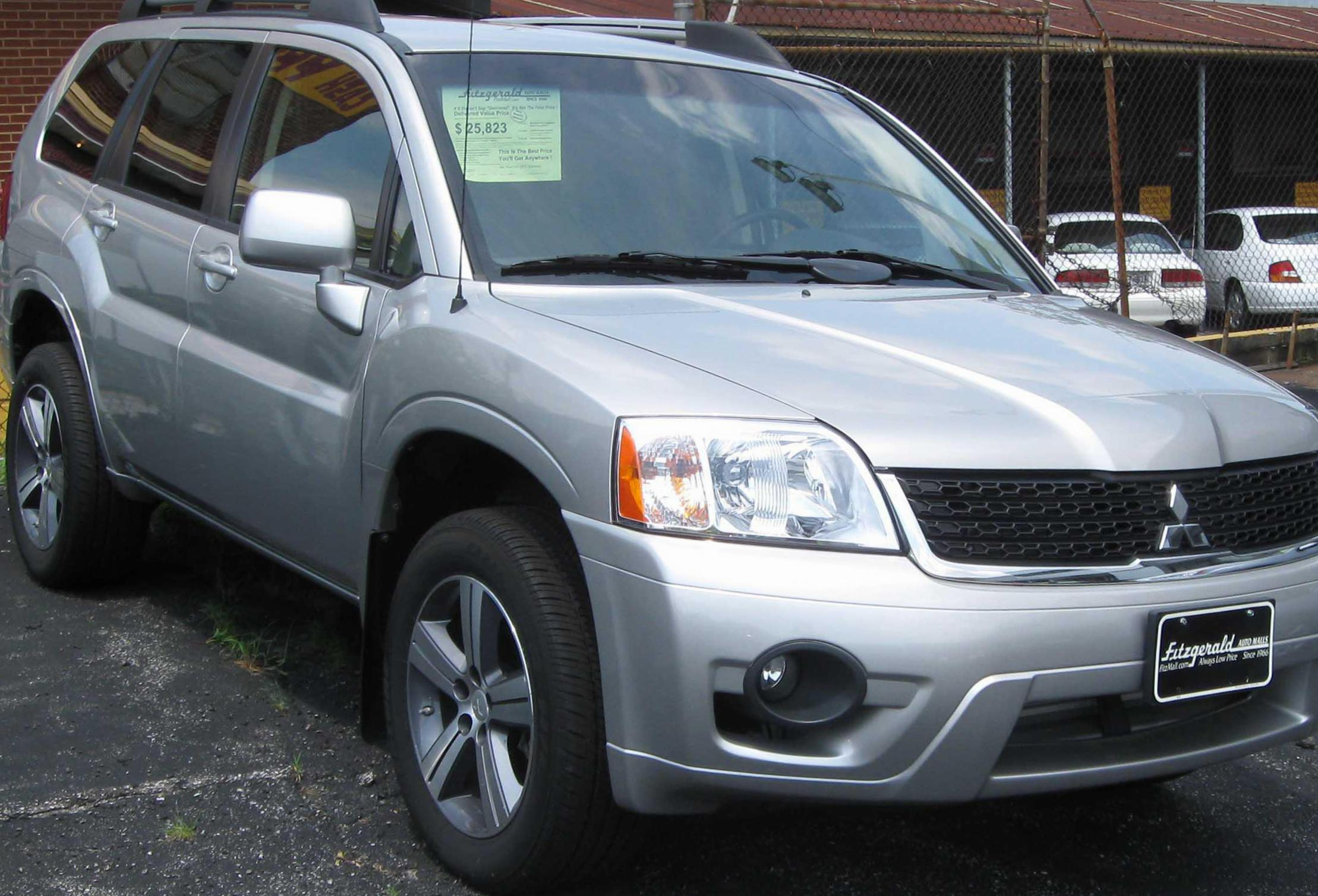 Mitsubishi Endeavor approved 2009