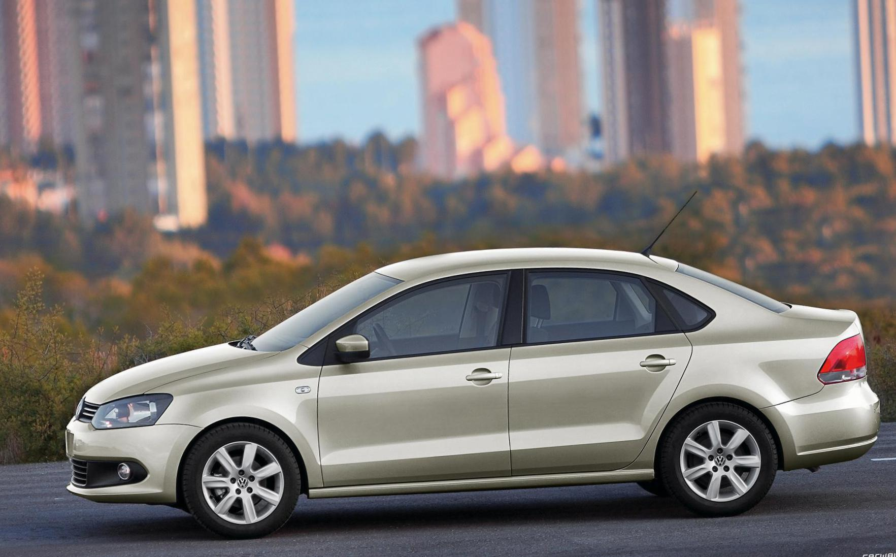 Polo Sedan Volkswagen lease 2011