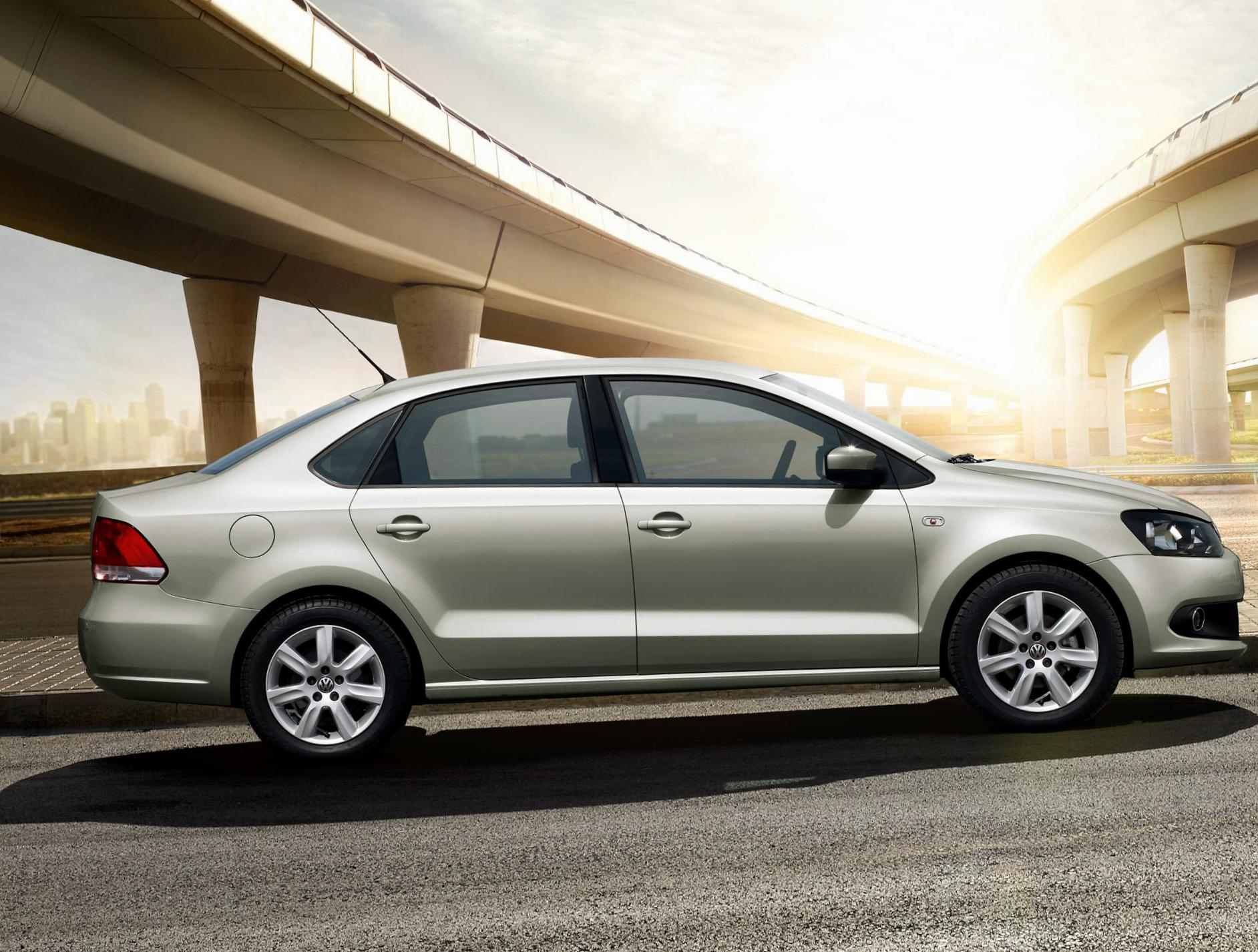 Volkswagen Polo Sedan usa 2012