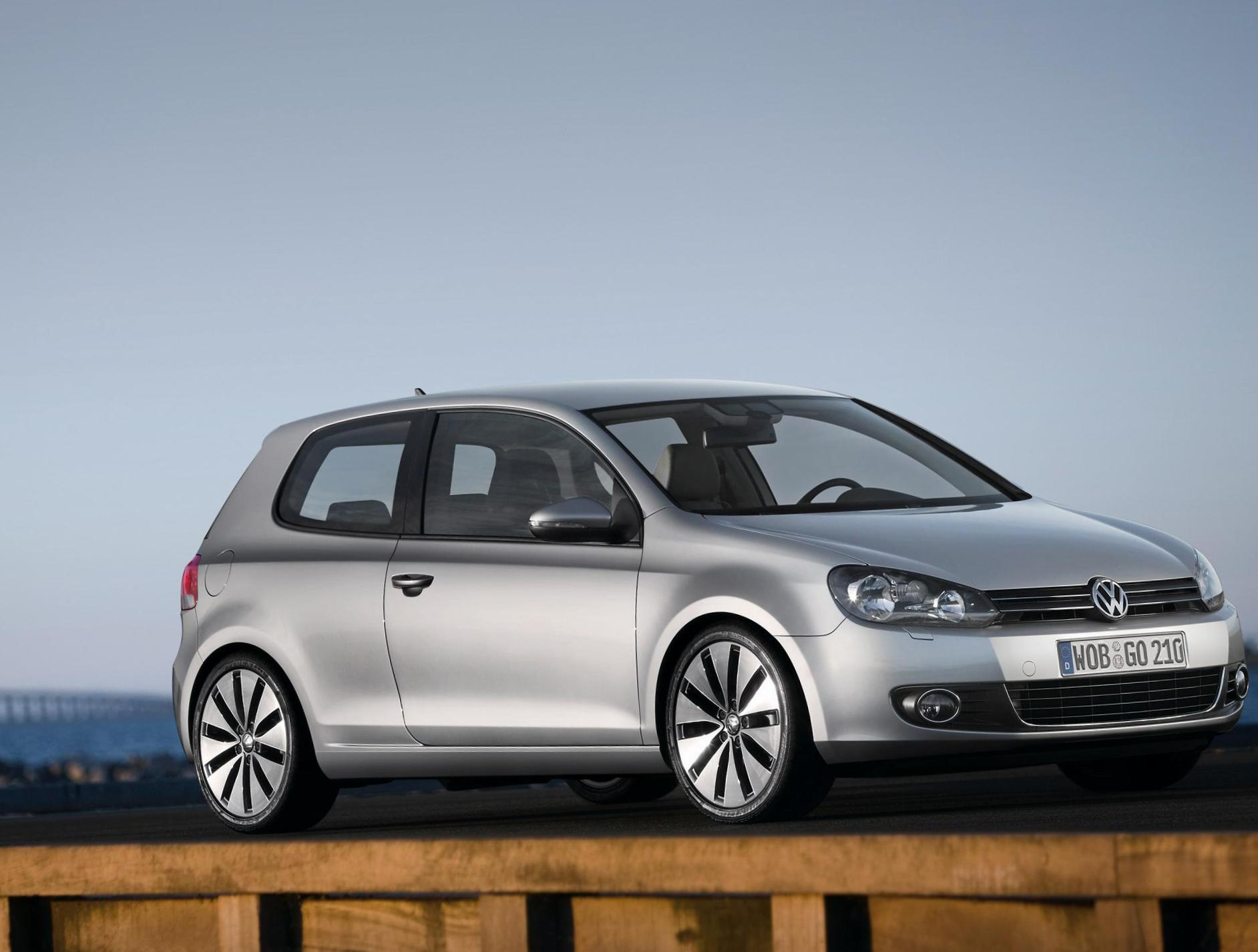 Golf 3 doors Volkswagen for sale sedan
