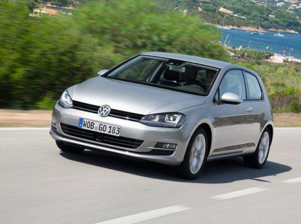 Volkswagen Golf 5 doors Specifications sedan