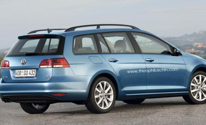 Golf Alltrack Volkswagen model 2003
