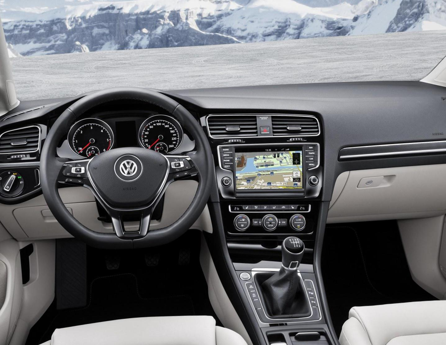 Golf Alltrack Volkswagen Specifications 2007