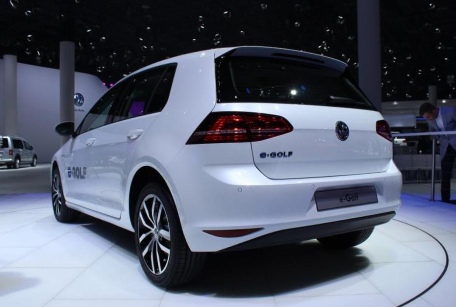 Volkswagen e-Golf approved 2010