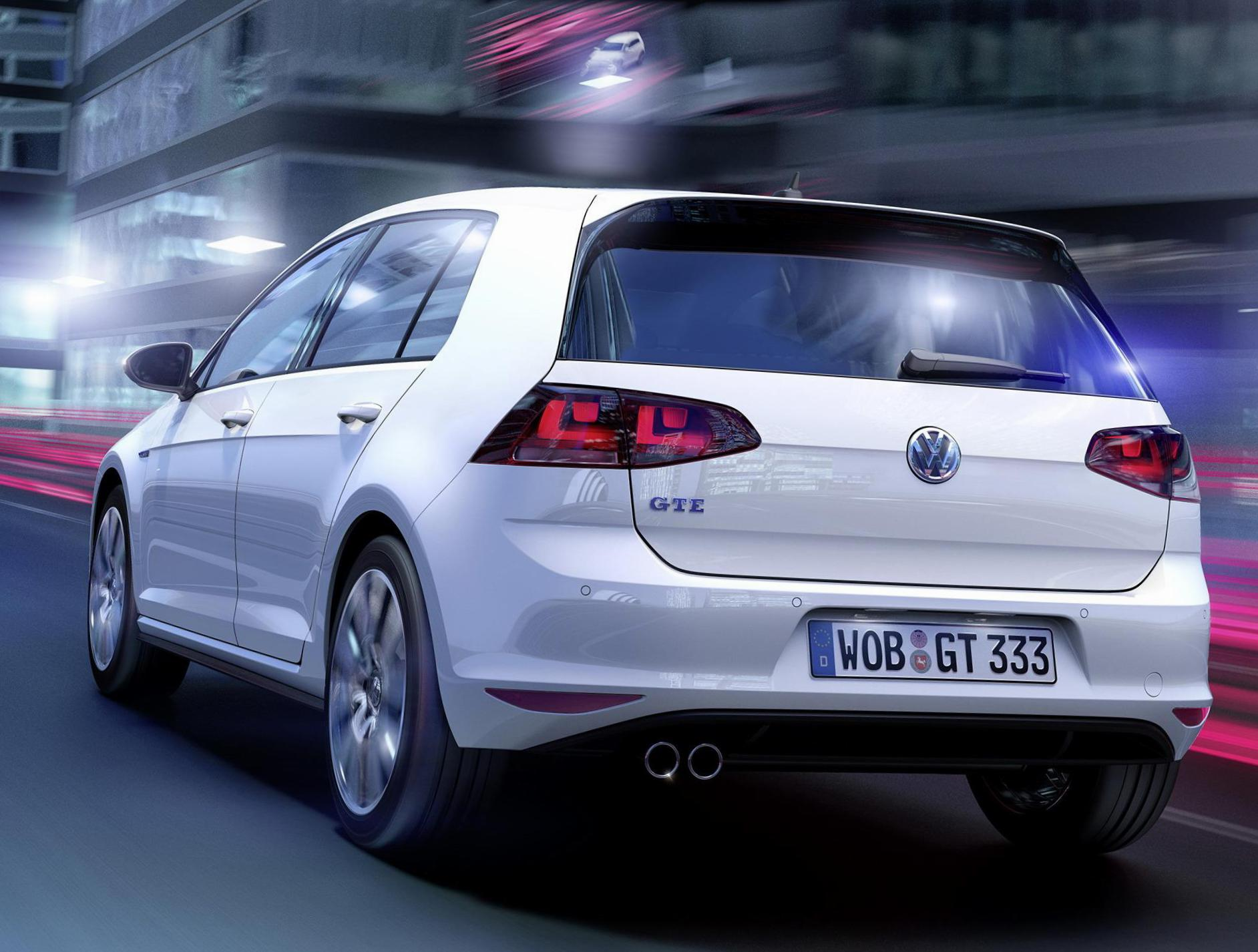 Golf GTE Volkswagen models 2011