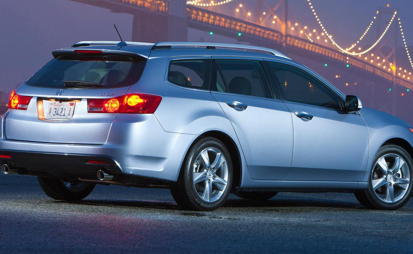 Acura TSX Sport Wagon reviews 2012