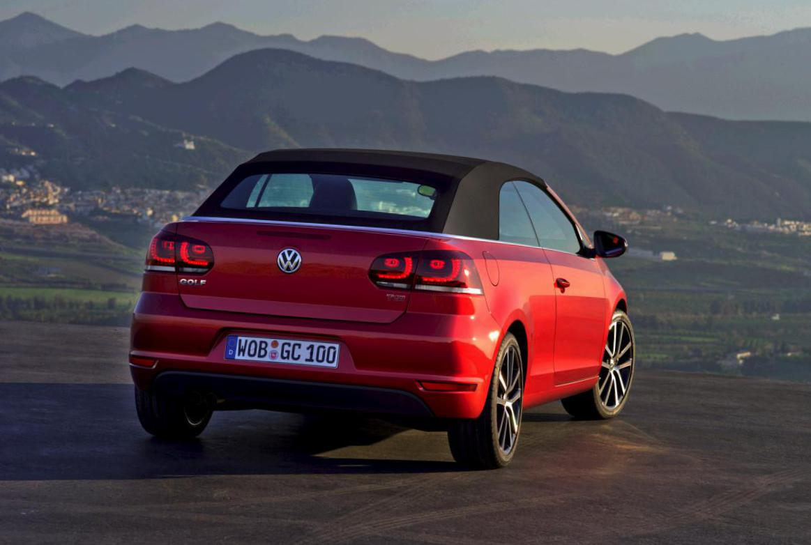 Volkswagen Golf Cabrio price 2013