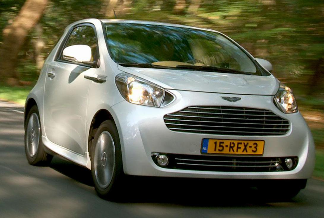 Aston Martin Cygnet review 2012