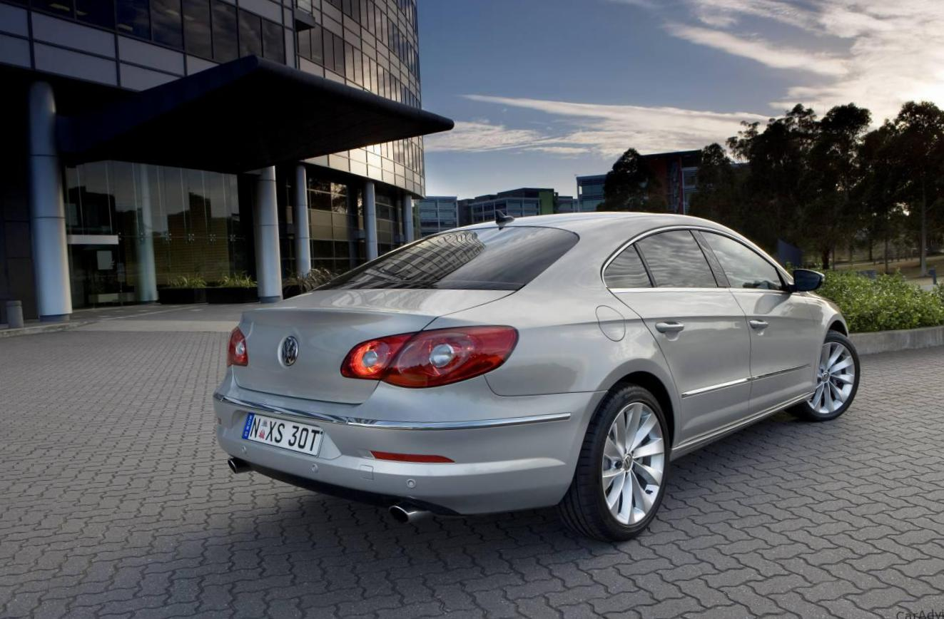 Volkswagen CC spec sedan
