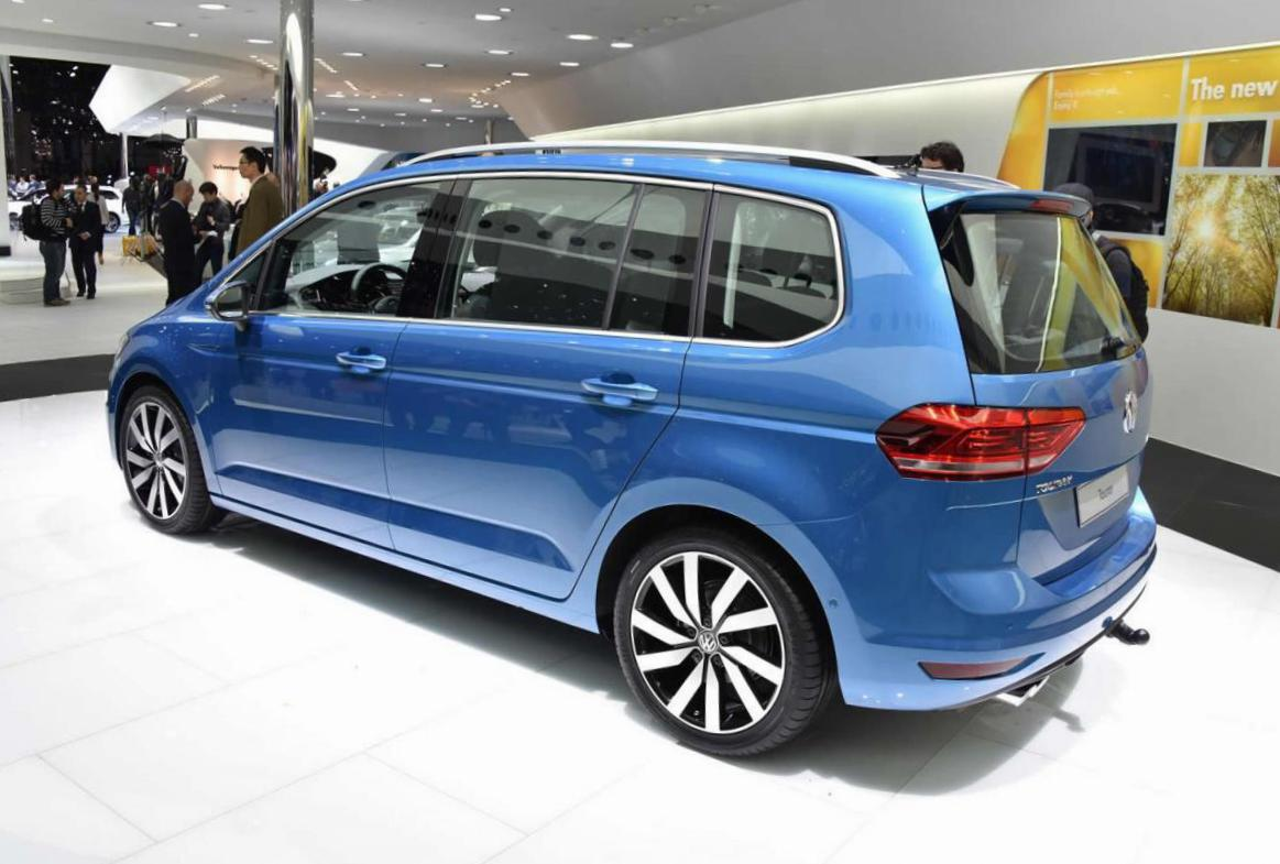 Volkswagen Touran used 2015