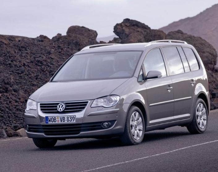 Touran Volkswagen model 2015