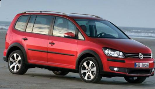 Volkswagen Cross Touran models 2007