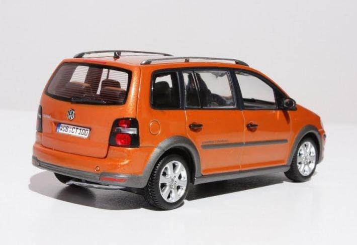 Cross Touran Volkswagen models 2007