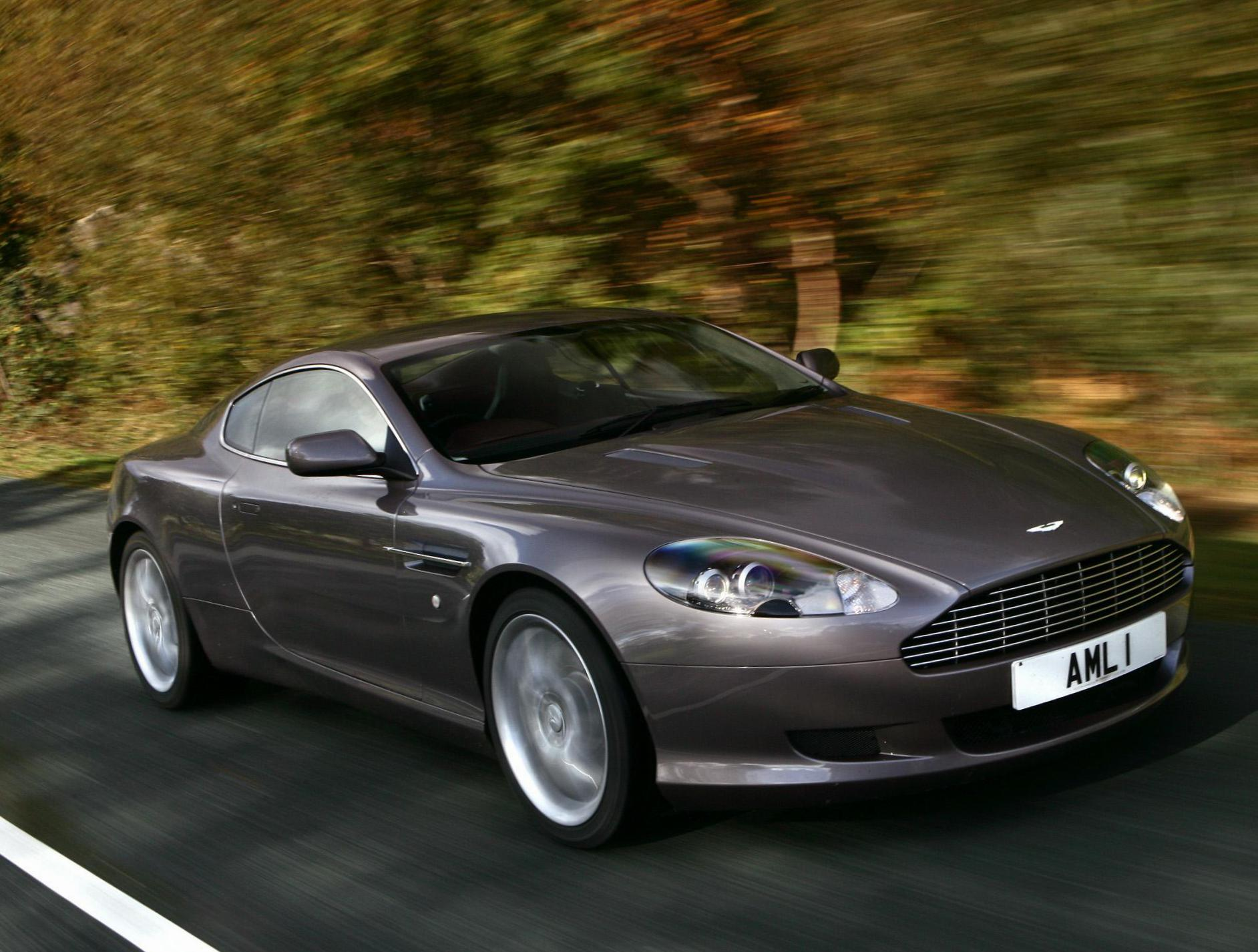 DB9 Aston Martin Specification 2009
