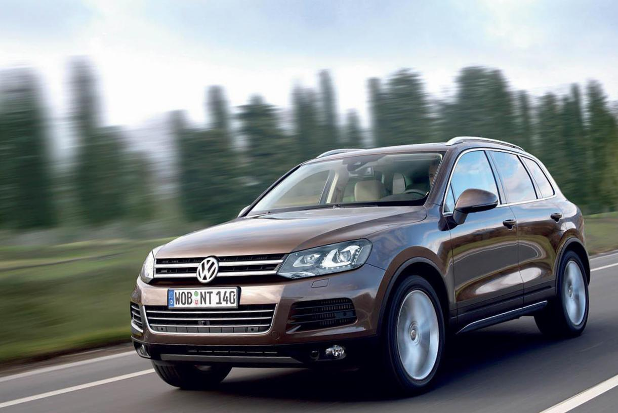 Volkswagen Touareg approved 2015