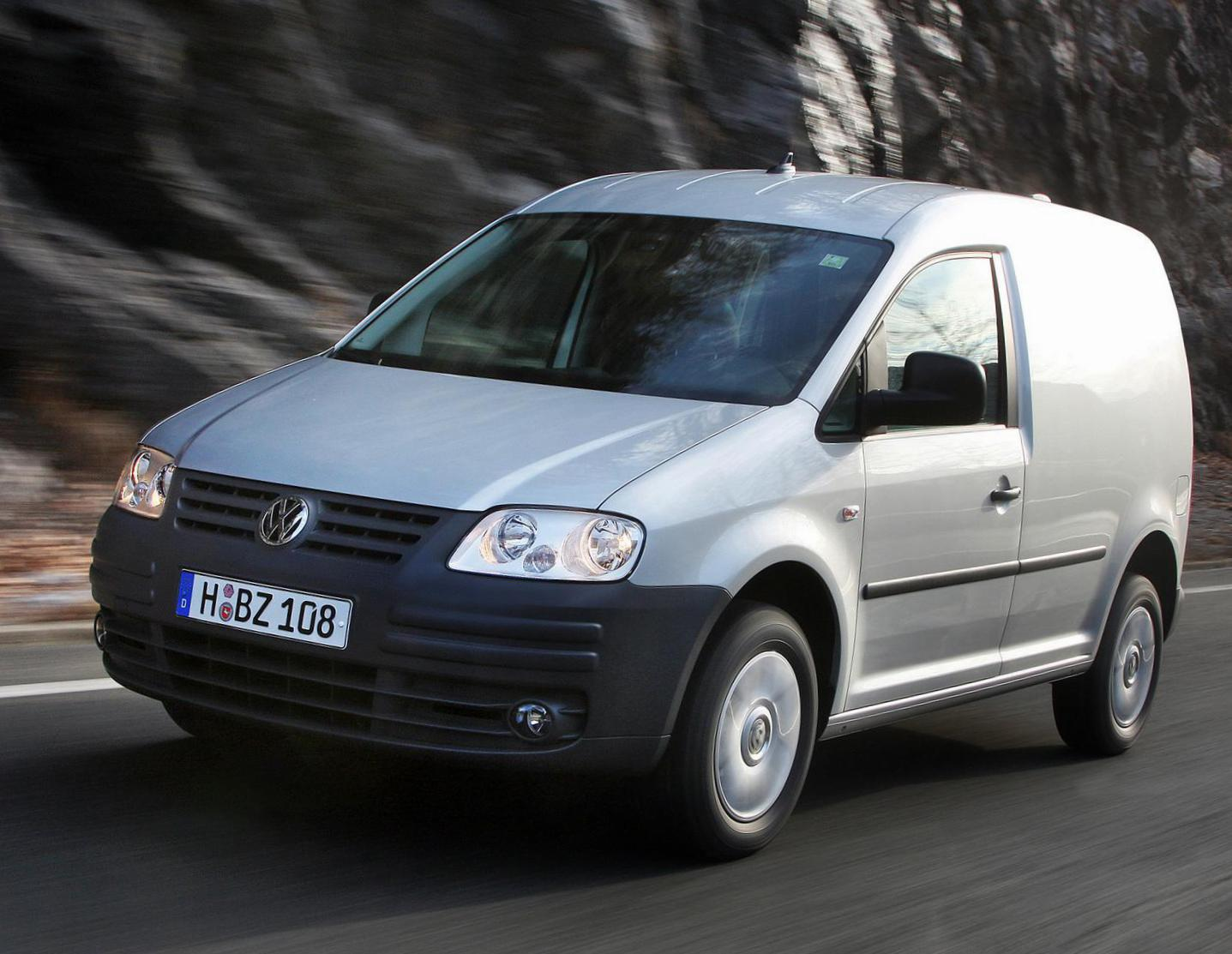 Volkswagen Caddy Kasten configuration 2005