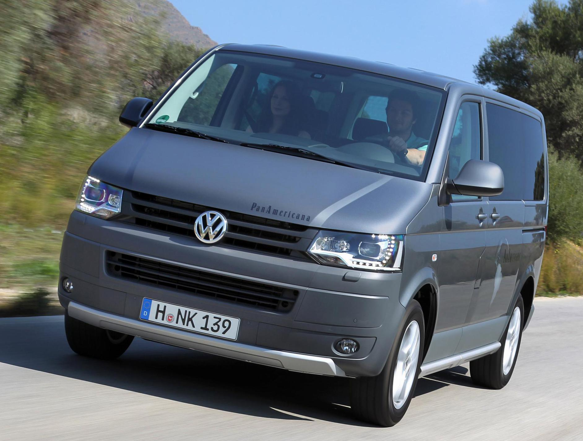 Volkswagen Multivan how mach 2005
