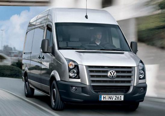 Volkswagen Crafter Kasten prices van