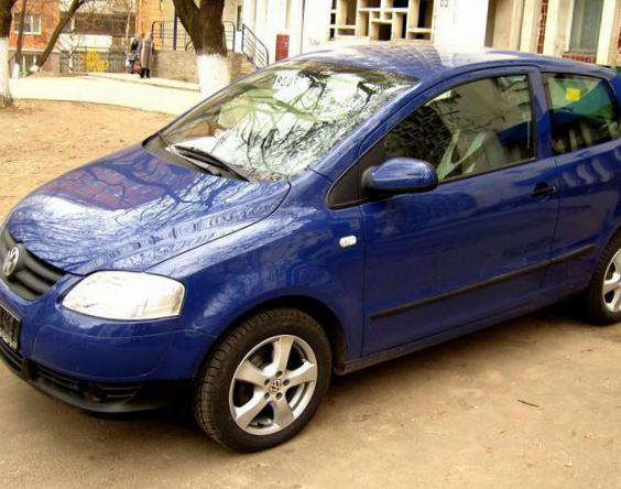 Volkswagen Fox spec 2011