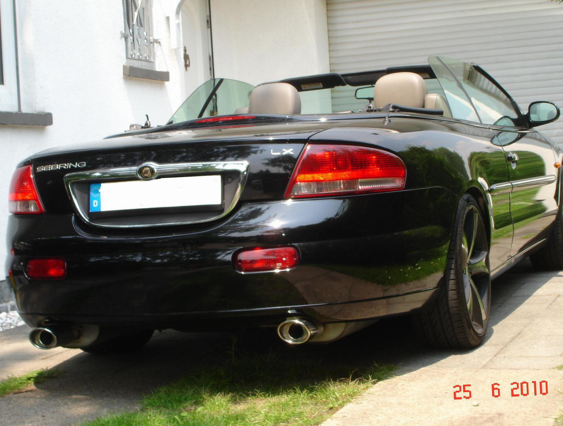 chrysler sebring cabrio photos and specs photo sebring cabrio chrysler parts and 24 perfect. Black Bedroom Furniture Sets. Home Design Ideas