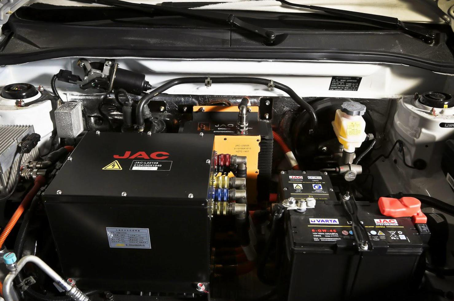 JAC iEV4 how mach 2011