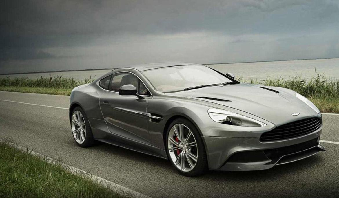 Aston Martin Vanquish approved coupe