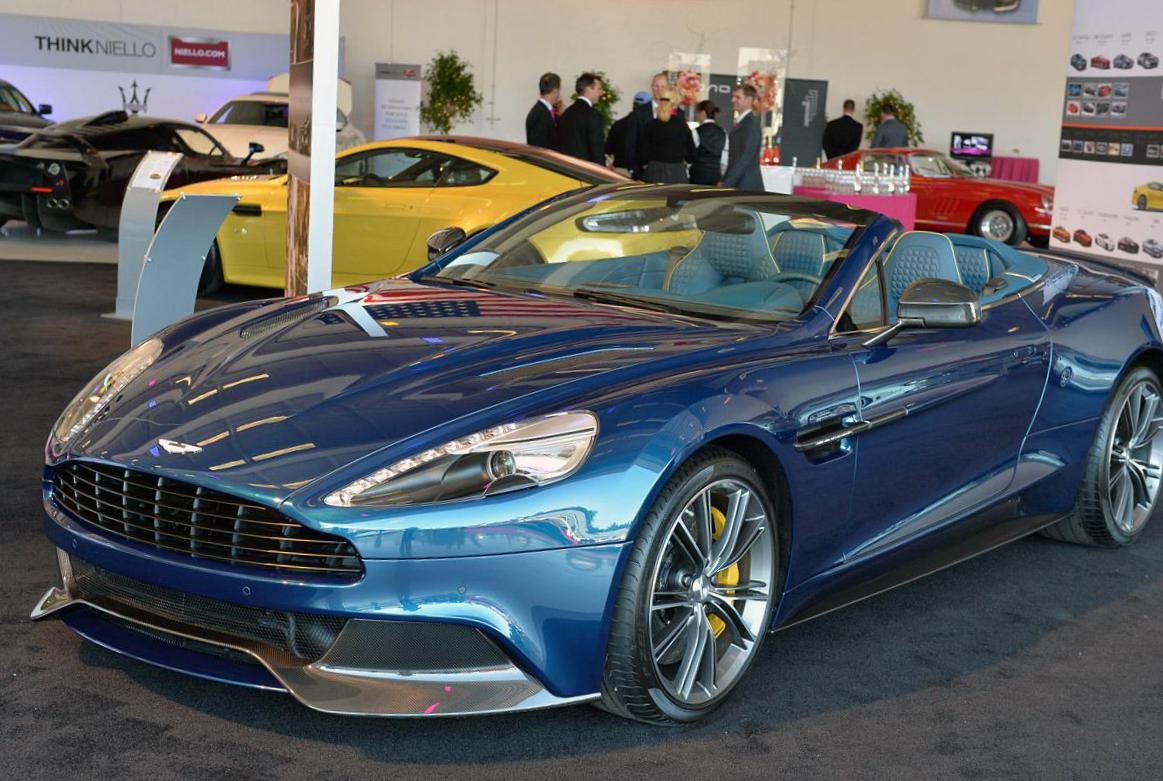 Vanquish Volante Aston Martin approved 2008