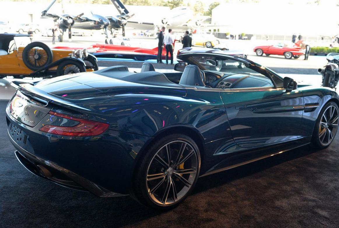 Vanquish Volante Aston Martin Specification cabriolet