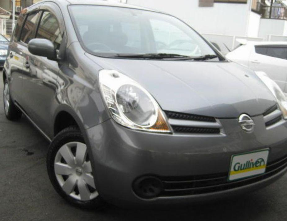 Nissan Note configuration 2013