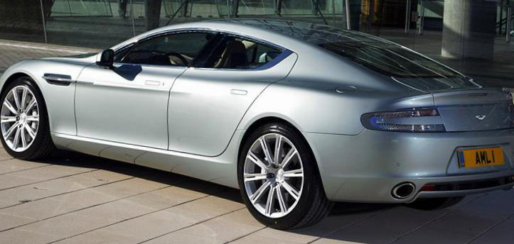 Aston Martin Rapide approved 2012