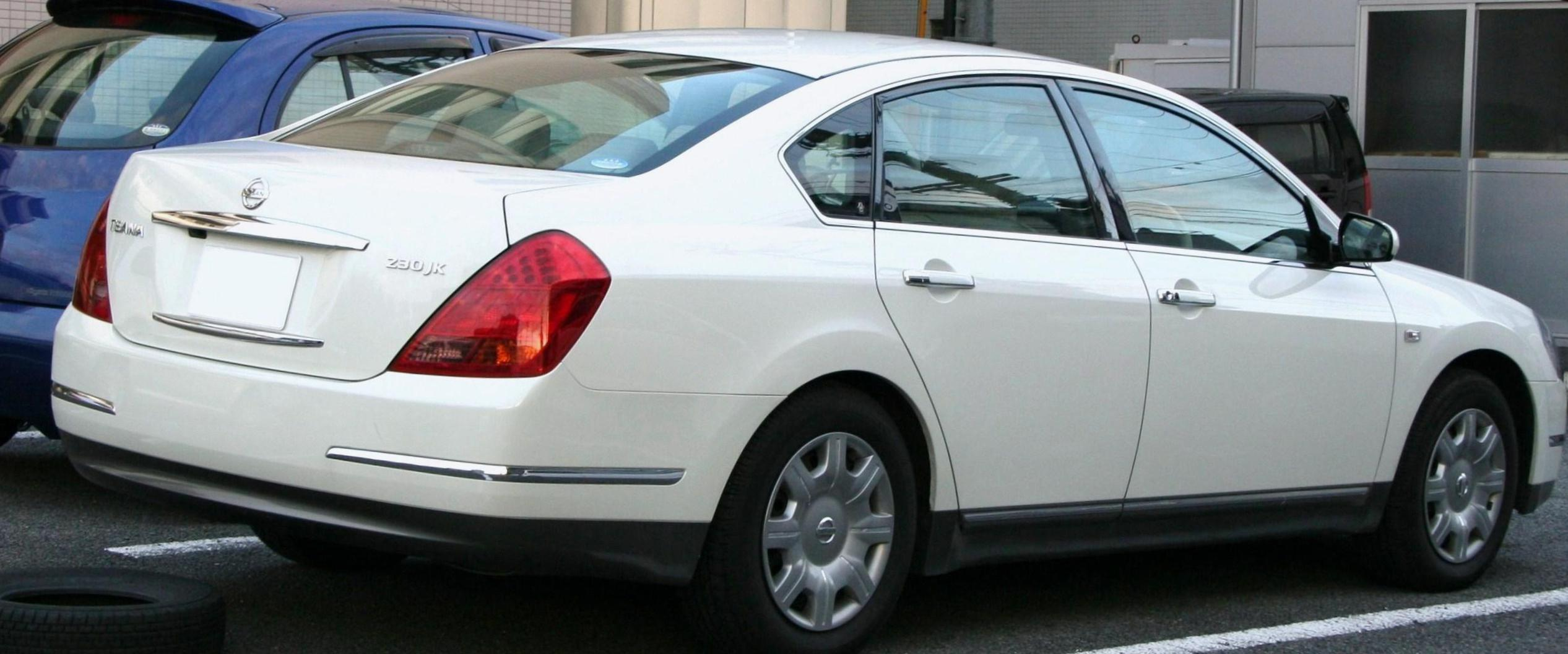 Nissan Teana Specifications 2015