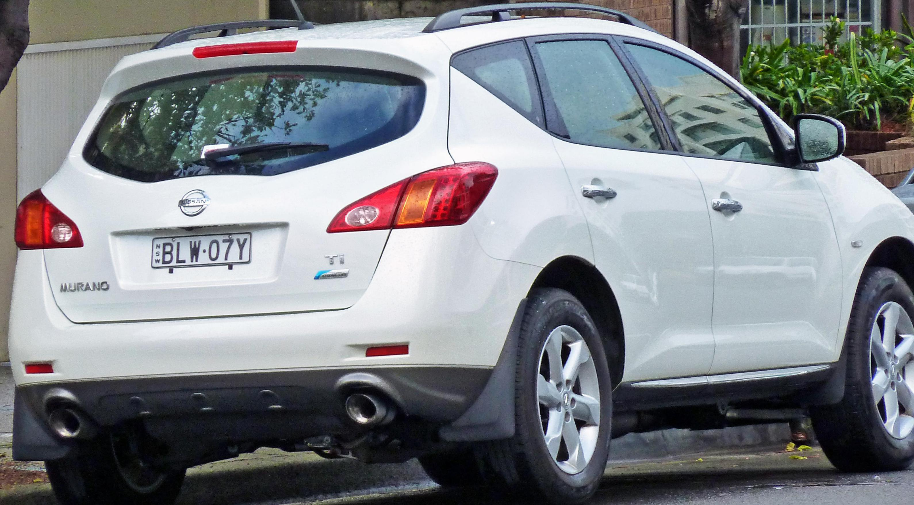 Nissan Murano Specification hatchback