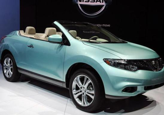 Nissan Murano CrossCabriolet approved 2010