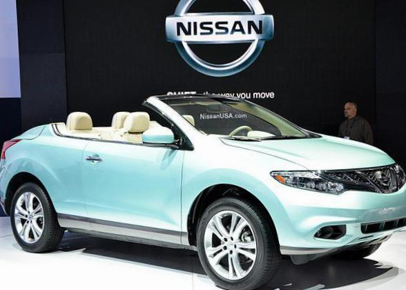 Nissan Murano CrossCabriolet how mach 2010
