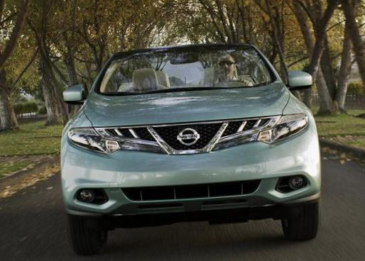 Nissan Murano CrossCabriolet reviews hatchback