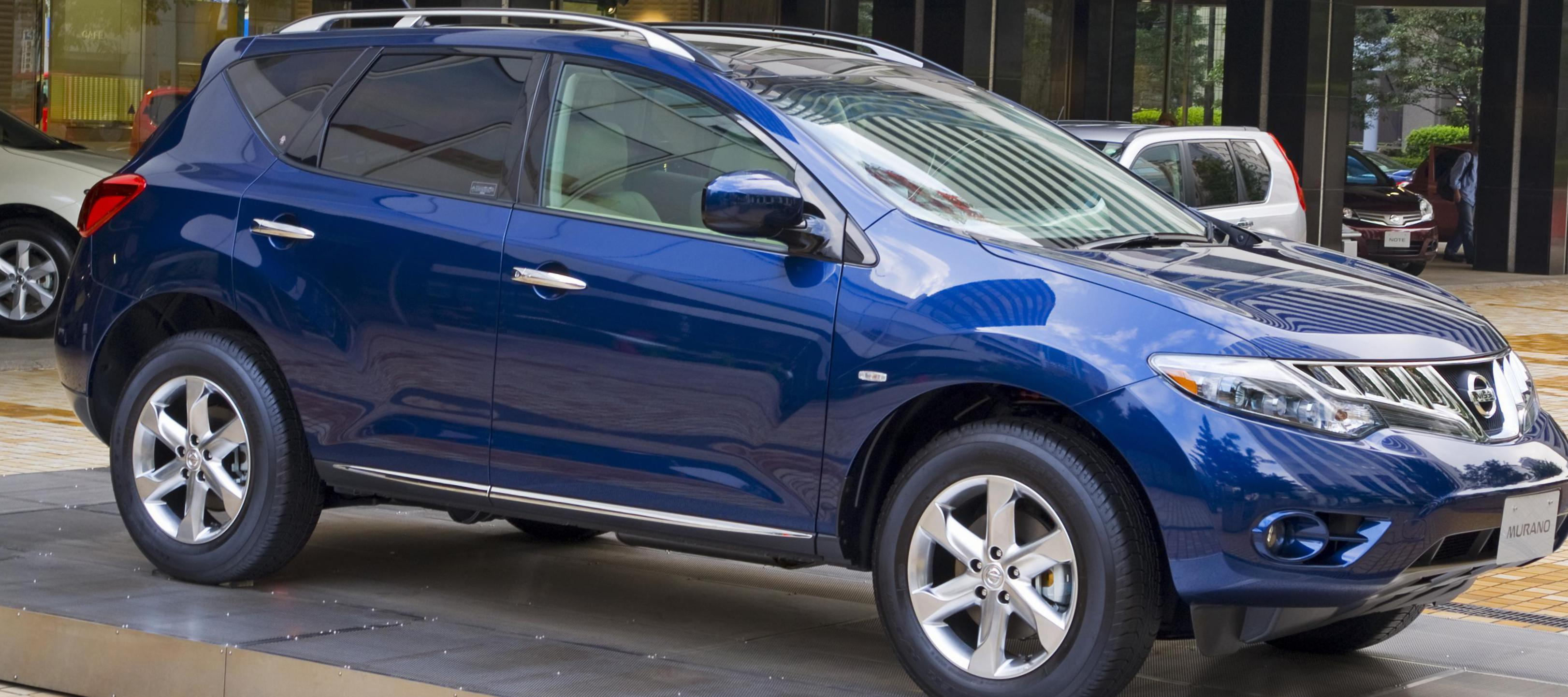 Nissan Murano approved 2010