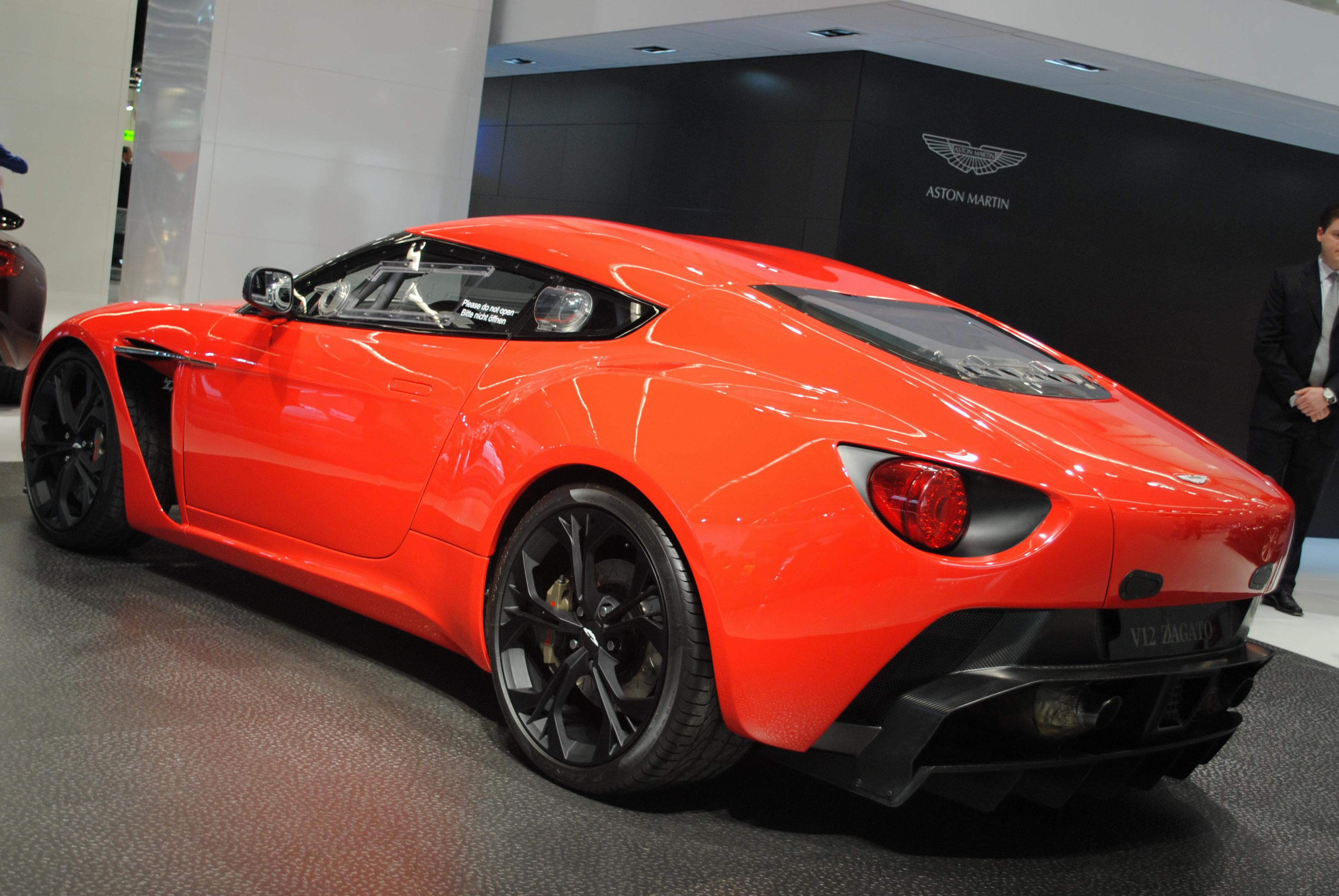 Aston Martin V12 Zagato model 2012