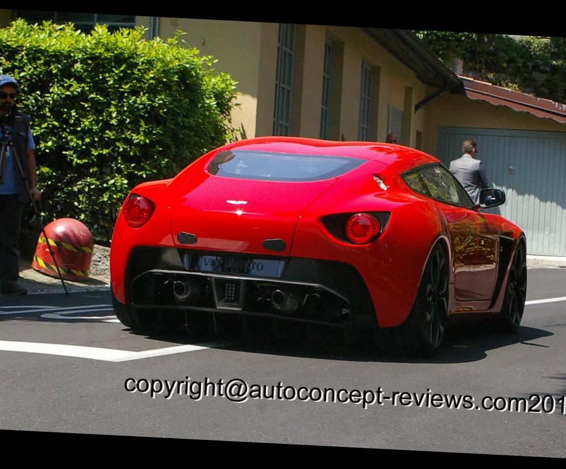 V12 Zagato Aston Martin approved suv