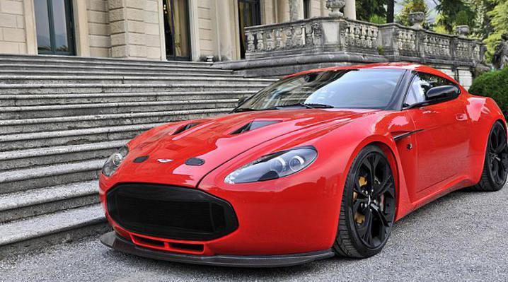 Aston Martin V Zagato Photos And Specs Photo V Zagato Aston - Aston martin v12 zagato
