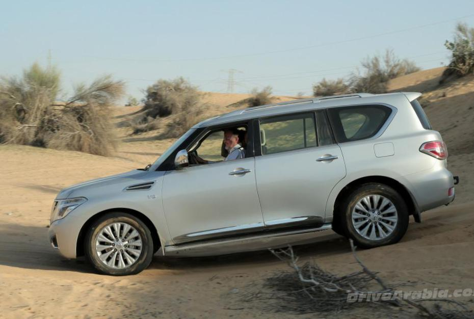 Nissan Patrol review 2015