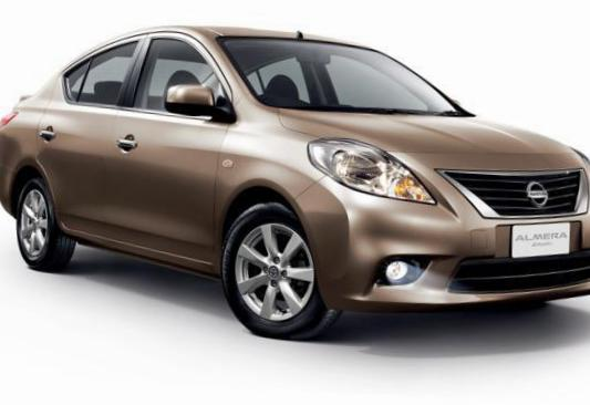 Almera Nissan approved sedan