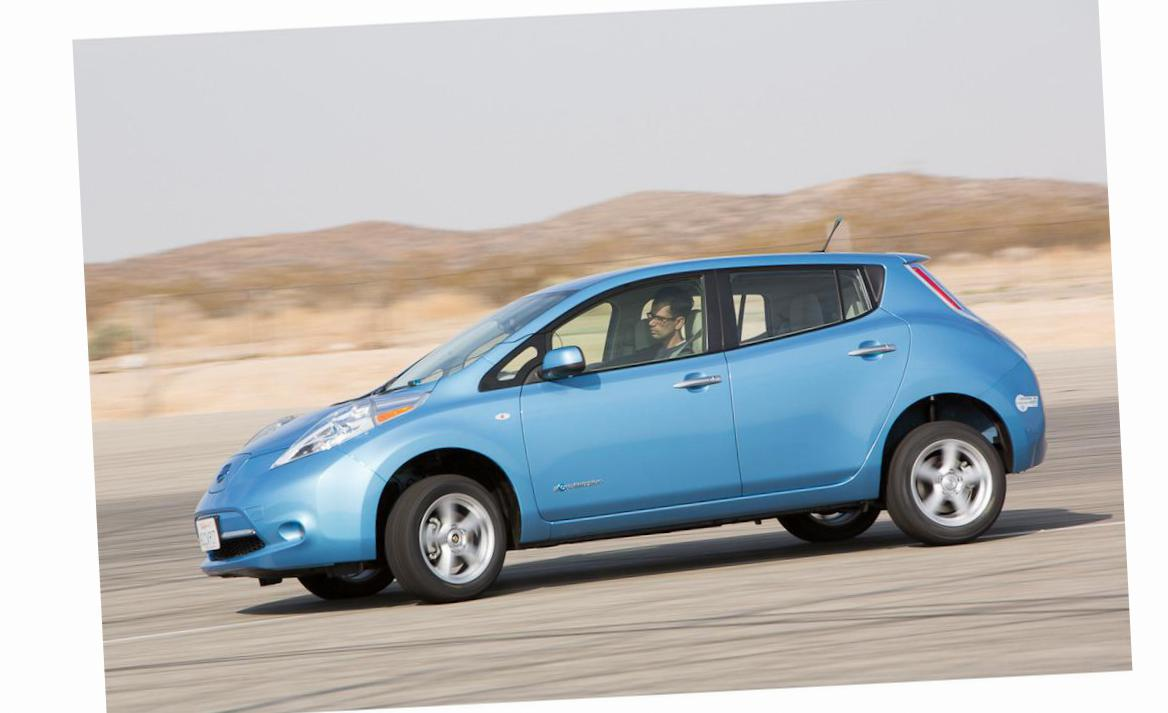 Leaf Nissan approved 2014