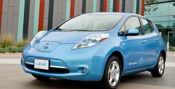Leaf Nissan reviews 2010