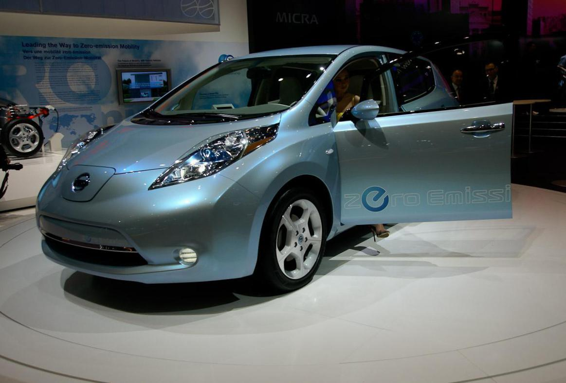 Nissan Leaf spec 2008
