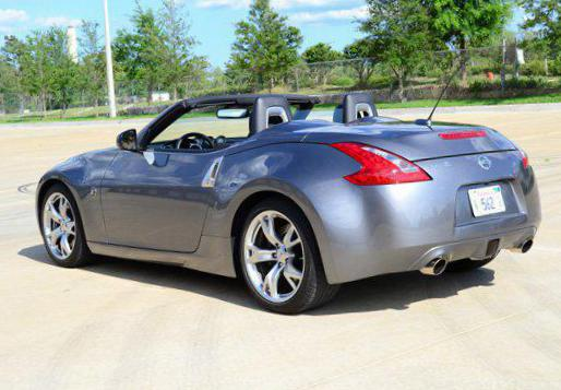 nissan 370z roadster photos and specs. photo: 370z roadster nissan