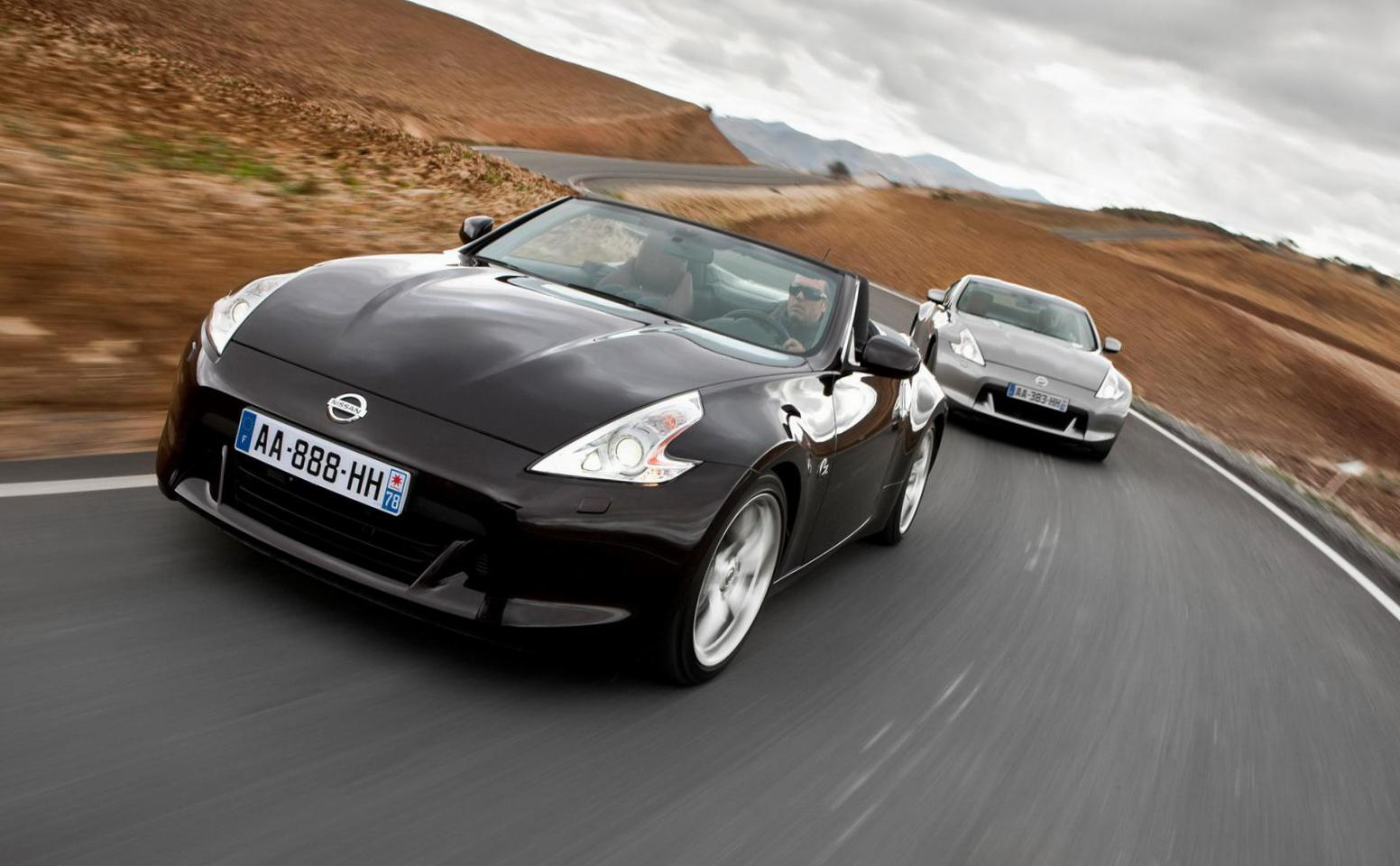 370Z Roadster Nissan prices 2010