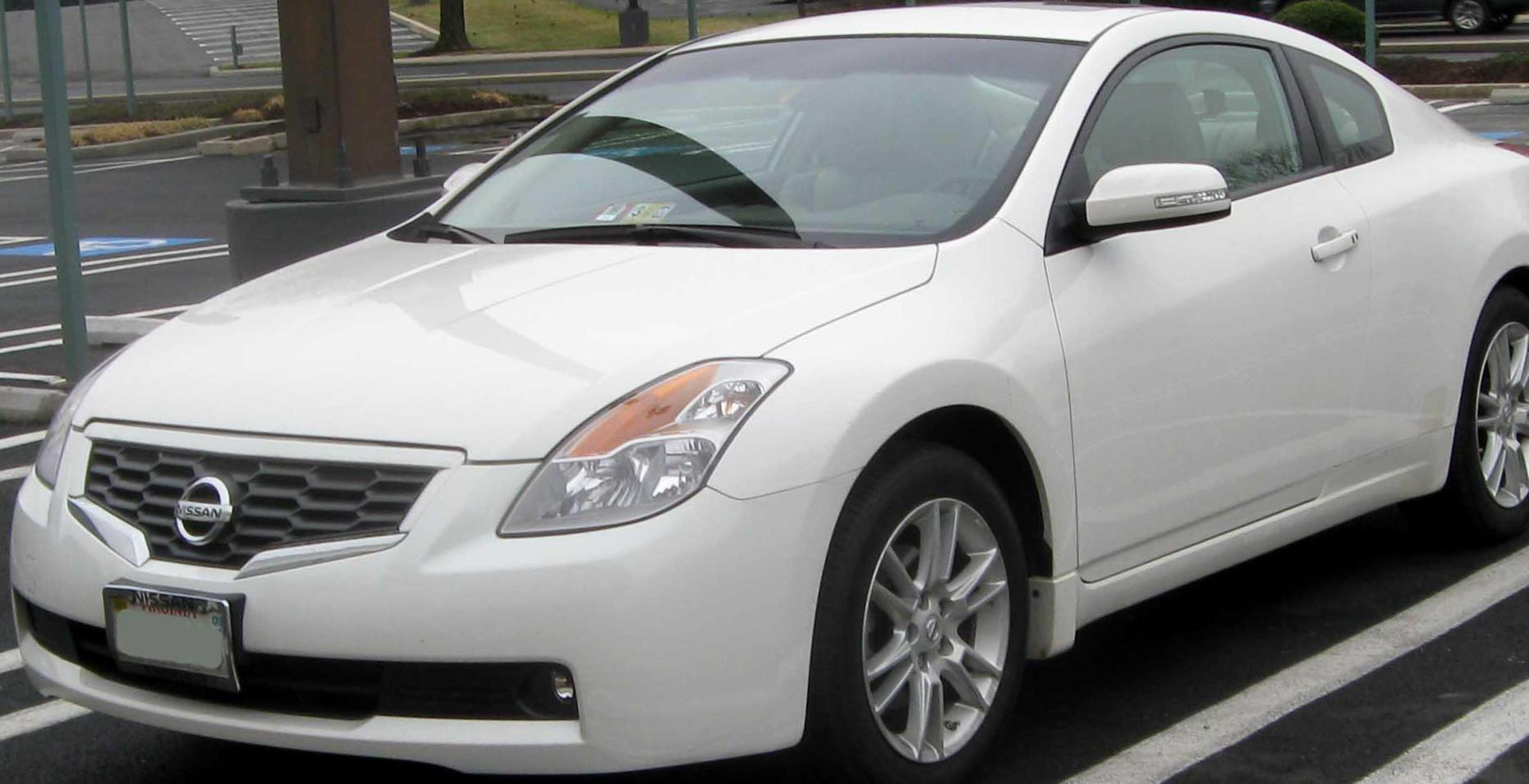 Nissan Altima Coupe Used