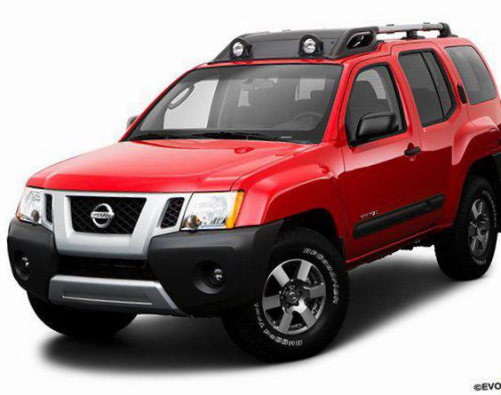 Nissan Xterra tuning sedan